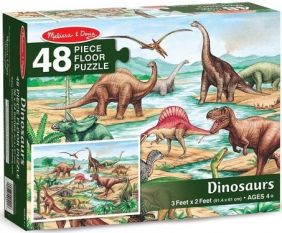 DINOSAURS FLOOR PUZZLE #421 BY
