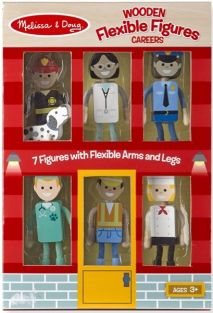 CAREERS-WOODEN FLEXIBLE FIGURE