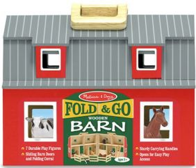 FOLD & GO WOODEN BARN