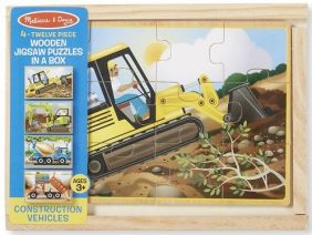 CONSTRUCTION-WOODEN PUZZLES IN
