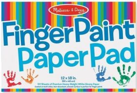 FINGER PAINT PAPER PAD #4106
