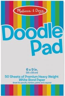 DOODLE PAPER PAD #4107 BY MELI