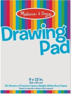 DRAWING PAPER PAD #4108 BY MEL