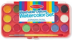 WASHABLE DELUXE WATERCOLOR PAINT