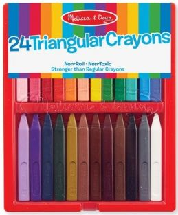 24 TRIANGULAR CRAYON SET #4136