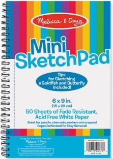 MINI SKETCH PAD #4170 BY MELISSA & DOUG