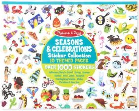 CELEBRATIONS, SEASONS & MORE STICKER