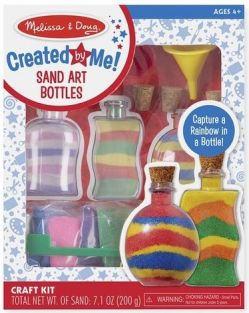 SAND ART BOTTLES-CREATED BY ME