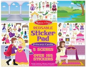 PRINCESS CASTLE REUSABLE STICKER