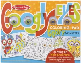 (D)GOOFY MONSTERS-GOOGLY EYES COL