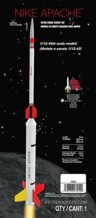 NIKE APACHE MODEL ROCKET KIT #