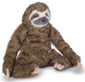 "SLOTH 14.5"" LIFELIKE PLUSH"