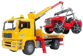MAN TGA TOW TRUCK WITH 4X4 #02