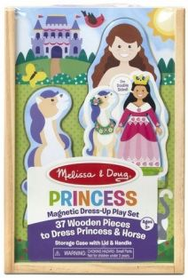 PRINCESS MAGNETIC DRESS-UP PLA