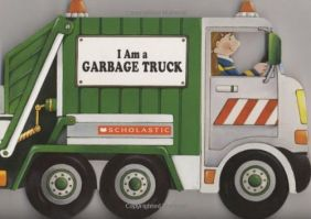 I AM A GARBAGE TRUCK BOARD BK