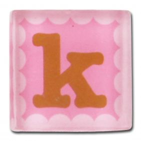 SMALL TALK MAGNETIC LETTER K #