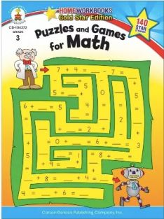 PUZZLES AND GAMES FOR MATH-GRA