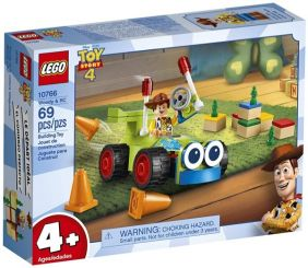 WOODY & RC-TOY STORY 4 SET