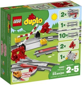 TRAIN TRACKS-DUPLO SET