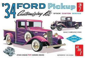 1/25 '34 FORD PICKUP 3-IN-1 CU