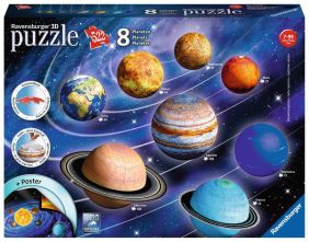 PLANETARY SOLAR SYSTEM 522-PC PUZZLE