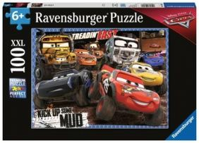 MUDDERS - CARS 100-PC XXL PUZZLE