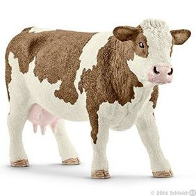 SIMMENTAL COW FIGURE
