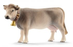 BRAUNVIEH COW FIGURE #13874 BY