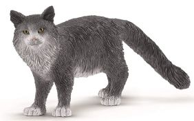 MAINE COON CAT FIGURE