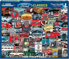 CLASSIC FORD PICKUPS 1000-PIEC
