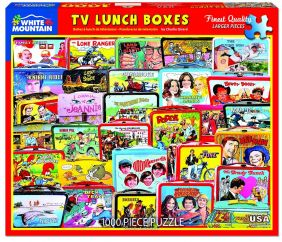 TV LUNCH BOXES COLLAGE 1000-PI
