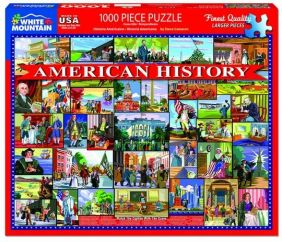AMERICAN HISTORY COLLAGE 1000-