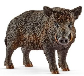 WILD BOAR FIGURE #14783 BY SCH