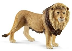 LION FIGURE #14812 BY SCHLEICH