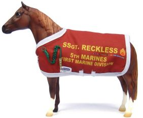 SERGEANT RECKLESS MODEL HORSE