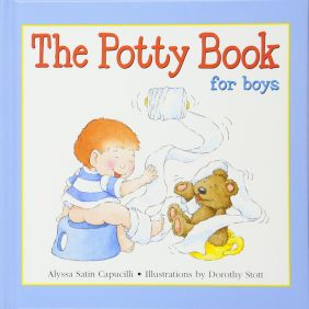 THE POTTY BOOK FOR BOYS #15232