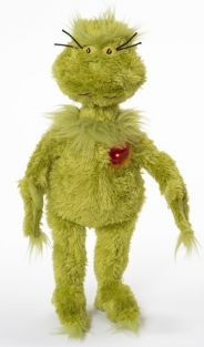 DR. SEUSS GRINCH WITH LIGHT-UP HEART