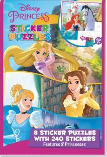 DISNEY PRINCESS STICKER PUZZLE
