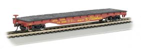 HO 52' UNION PACIFIC FLAT CAR
