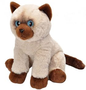 "SIAMESE CAT-PET SHOP 12"" PLUSH"