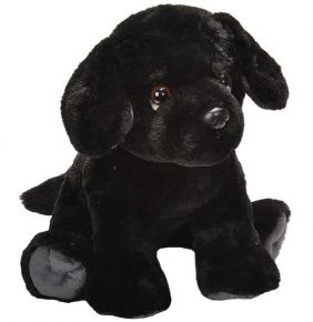 BLACK LAB PUPPY-PET SHOP 12""