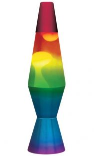 "11.5"" LAVA LAMP-RAINBOW"