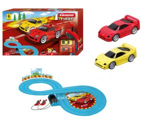 FERRARI 1.FIRST SLOT CAR SET #