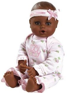 LITTLE PRINCESS DARK SKIN PLAYTIME BABIE