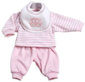 3-PIECE PINK LAYETTE PLAYTIME