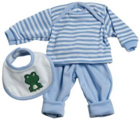 3-PIECE BLUE LAYETTE PLAYTIME