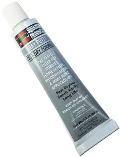 GRAY HOBBY PUTTY 2.3OZ TUBE #20205 BY SQUADRON