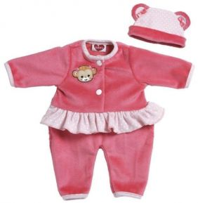 "PINK MONKEY PLAYTIME 13"" DOLL OUTFIT"