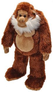 "BIG FOOT 12"" PLUSH #20710 BY W"