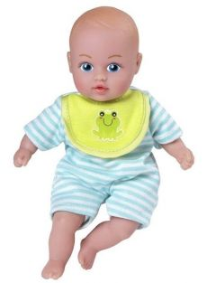 "BLUE PJS BABY TOTS 8.5"" DOLL #"